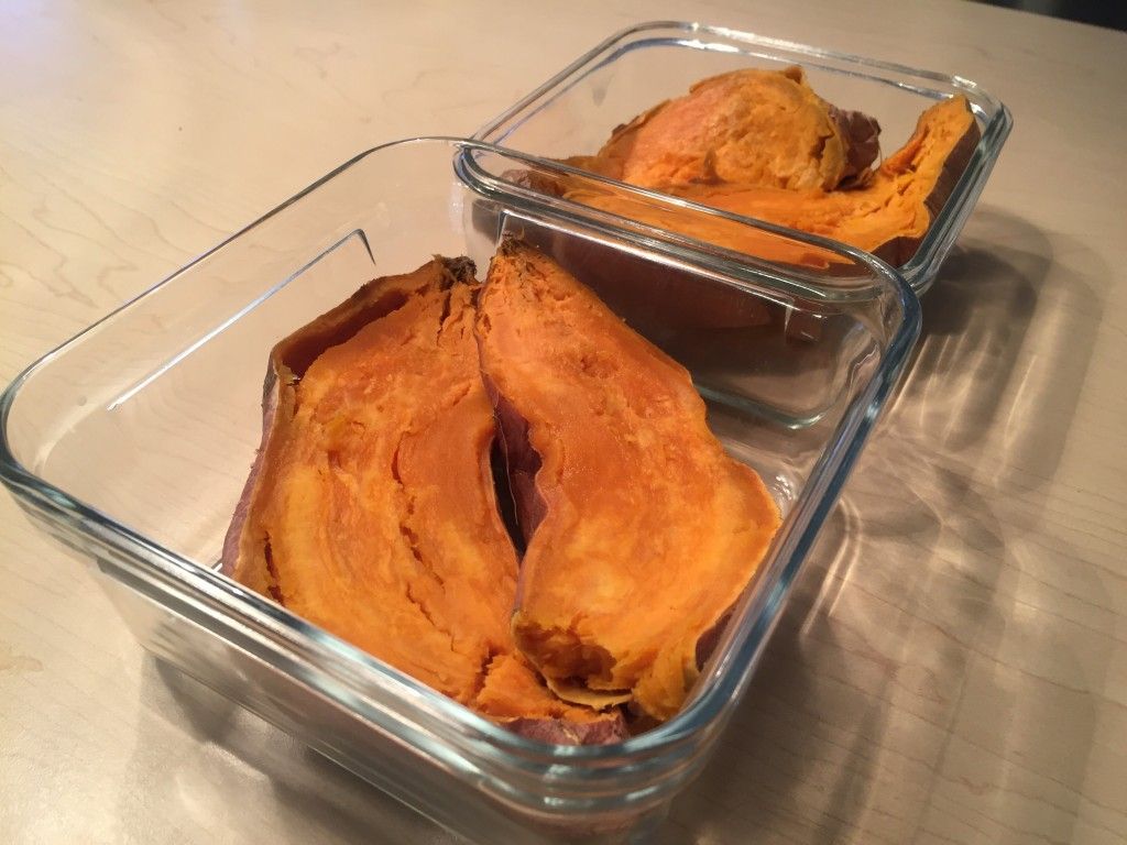 Sweet potato- Starchy carbohydrate